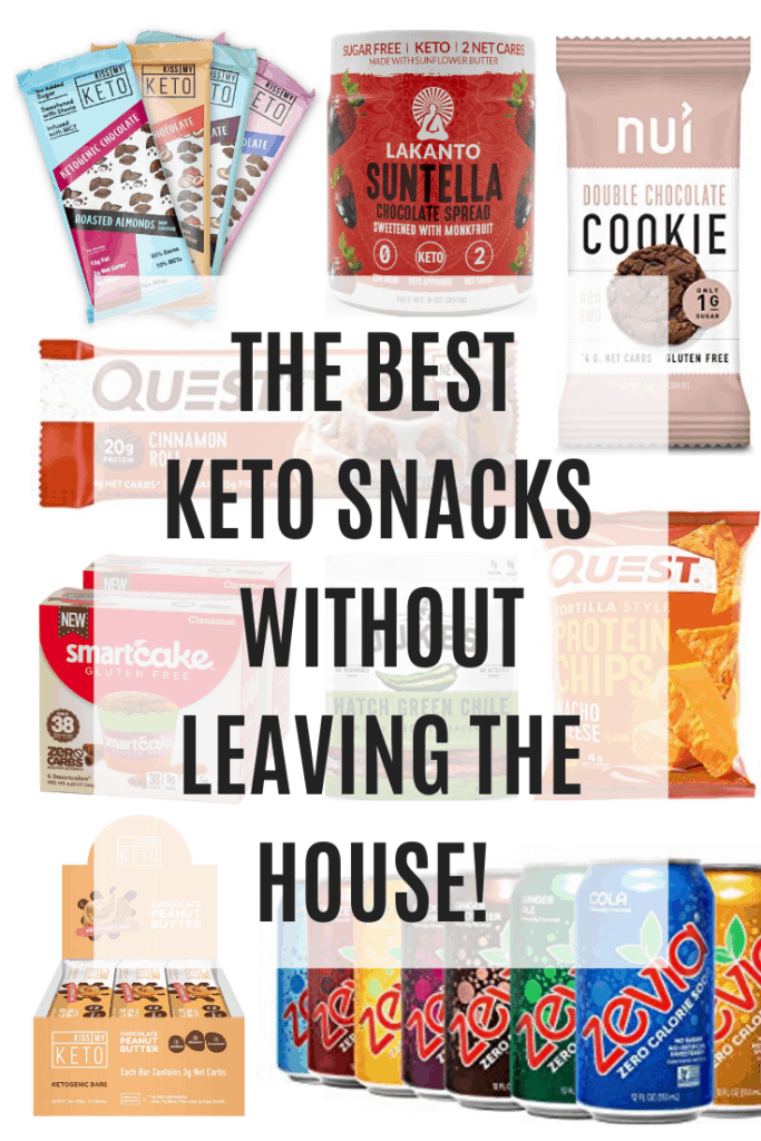 Keto snacks when your stuck at home from the COVID-19 corona virus pandemic. Don't leave your house but do get some tasty snacks delivered to your door and you are all set for your keto diet!