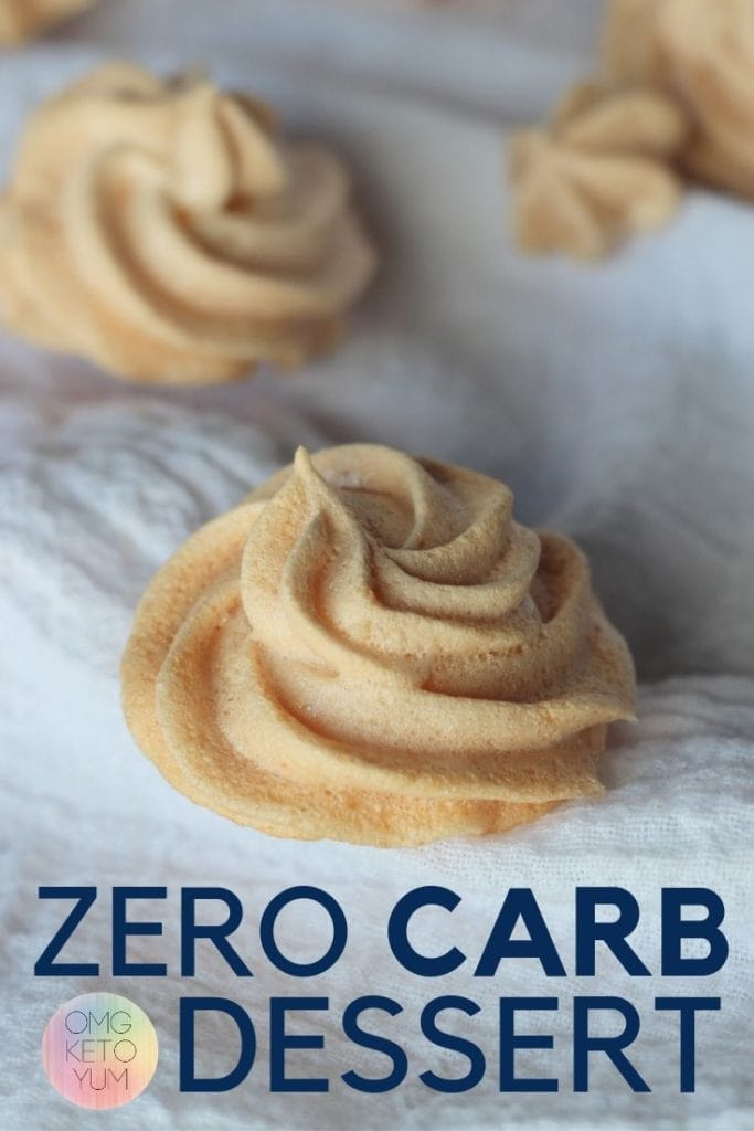 This Zero Carb Dessert is perfect for keto diets. Zero Carb cookies light and crunchy. Keep your keto diet safe with this zero carb Dessert. Keto Desserts are easy to make with this zero carb dessert recipe