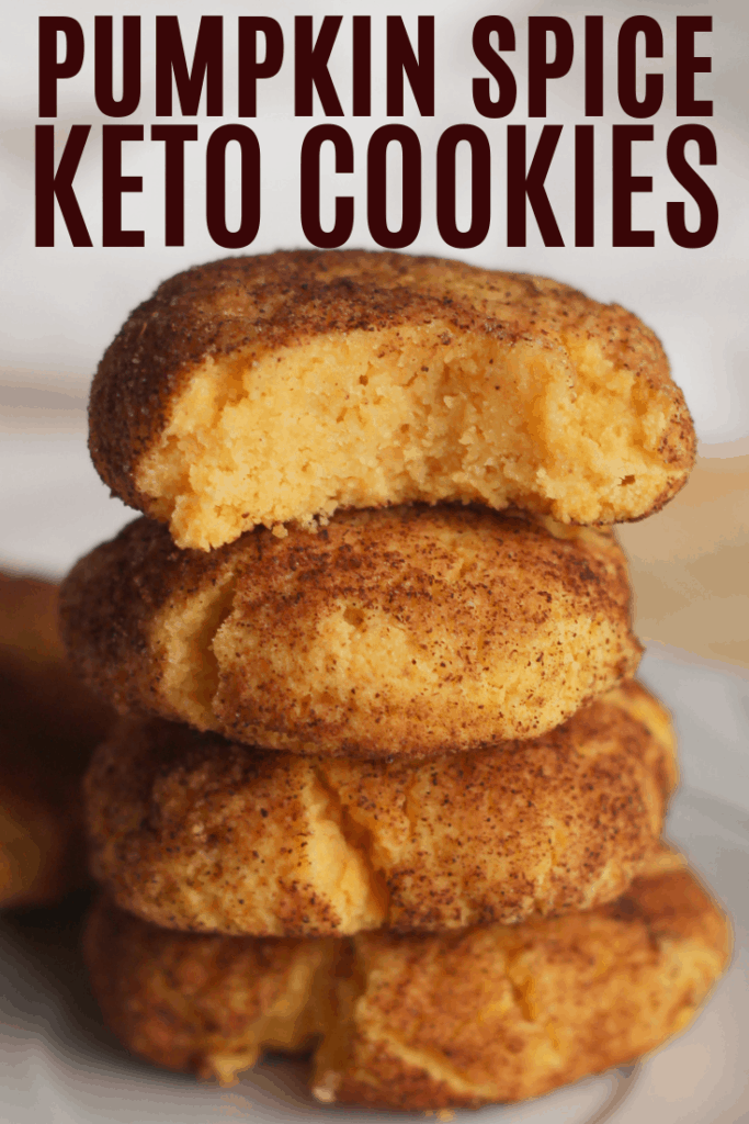 Pumpkin Spice Keto cookies are perfect for fall. These Pumpkin cookies are low carb and keto! Who doesn't love keto pumpkin spice recipes?
