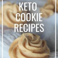 Keto Cookies Recipes that are only one carb or less!