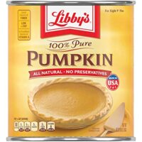 Libby's Pumpkin, Canned Puree and Pie Filling, 100% Pure Pumpkin, Gluten Free, 106 oz Can Bulk