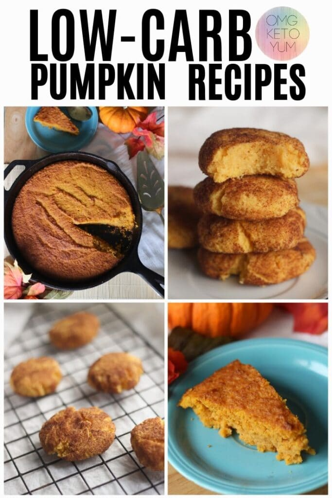 low carb Pumpkin Recipes for your low carb lifestyle. Check out some of these pumpkin spice favorites from your favorite keto bloggers!
