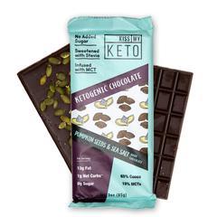 Keto Chocolate Pumpkin Seeds & Sea Salt (4 Pack)