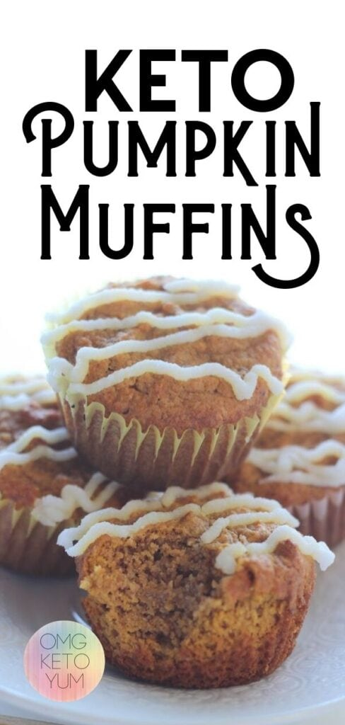 Keto Pumpkin Spice Muffins are perfect for fall season. Make the best Low Carb Pumpkin Spice Muffins for fall.