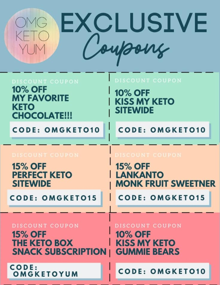 Exclusive Keto Coupons!