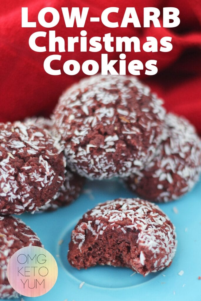 Low Carb Christmas Cookies are great for your low carb christmas recipes list. This low carb christmas cookie recipe will be delicious this keto christmas