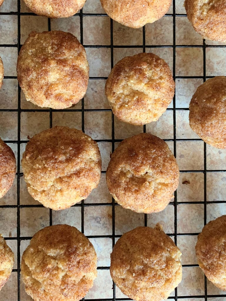 These keto snickerdoodles are soft and chewy and low carb . These low carb snickerdoodles are perfect for low carb diets. Try these keto cookies today!